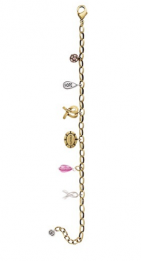 Silpada Pink Out Loud Bracelet