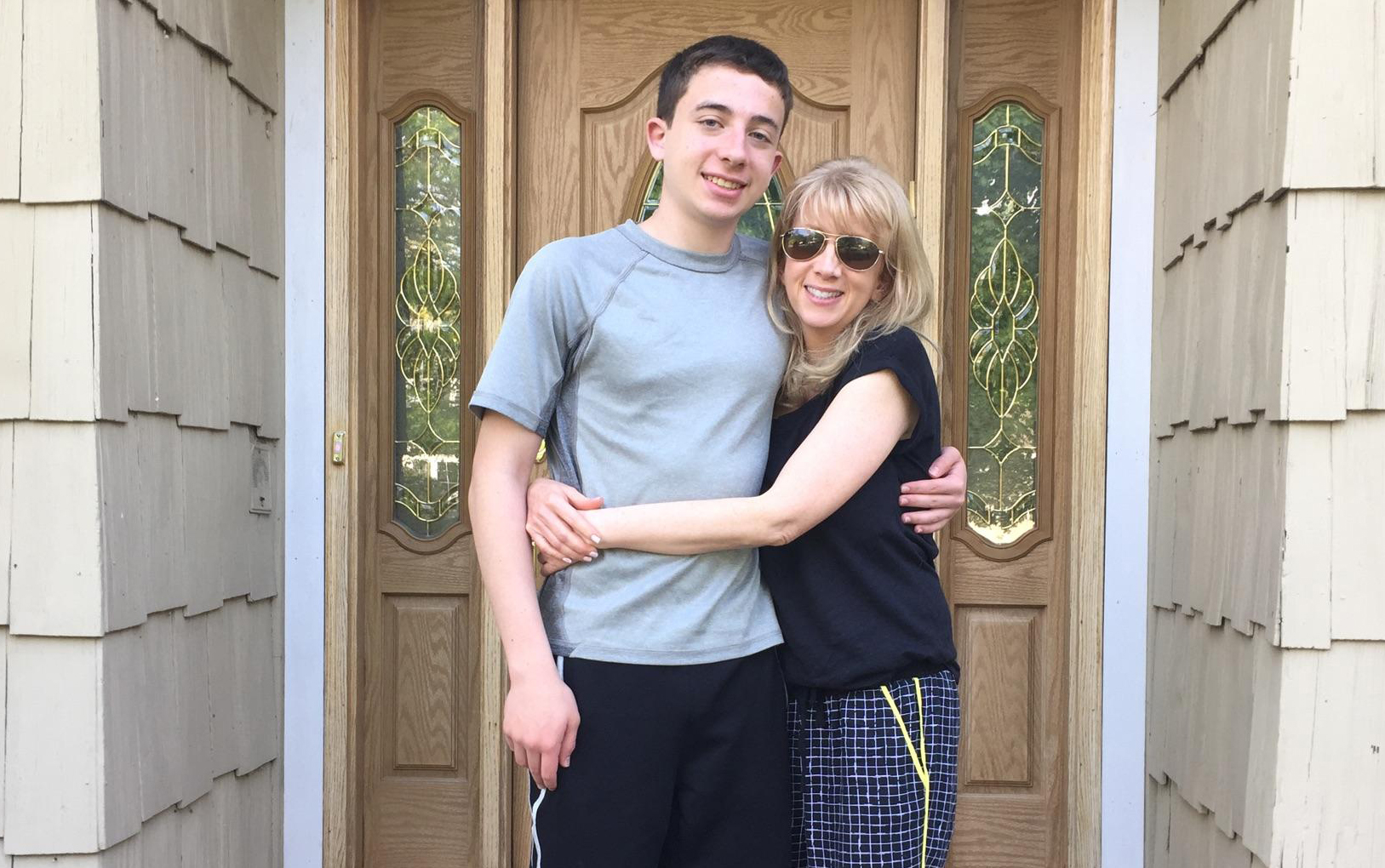 Jordan and his mom_blog