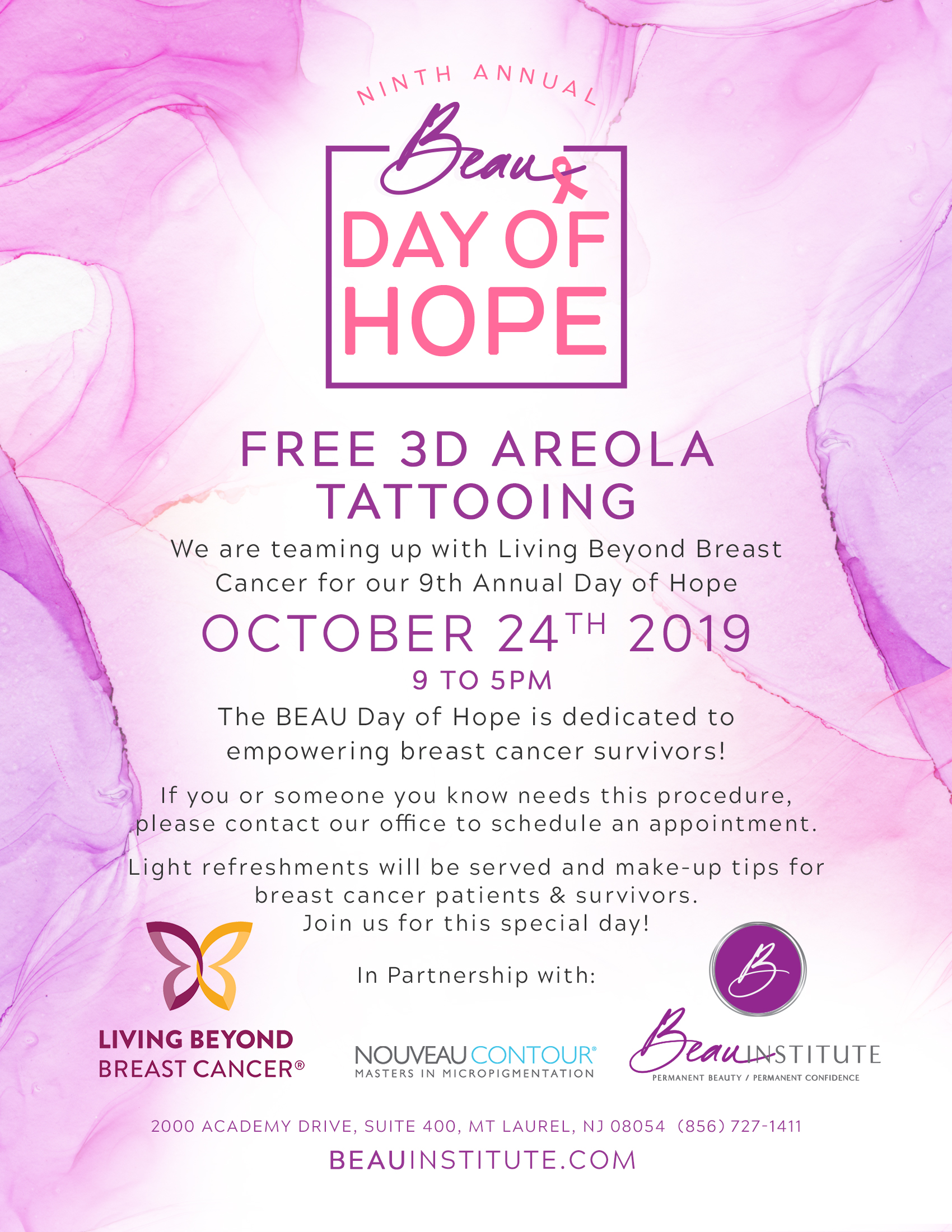 Beau Day Of Hope Living Beyond Breast Cancer